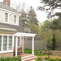 Additions and remodeling to an antique Cape on Gorham Road in Harwich Port.